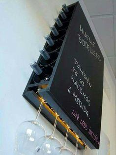 Wandleiste: 60 tolle Designs Designs und Fotos The post Wandleiste: 60 tolle Designs Designs und Fotos Neu dekoration stile appeared first on DIY Projekte. Küchen Design, House Design, Diy Casa, Wine Storage, Storage Ideas, Kitchen Storage, Kitchen Organization, Cabinet Storage, Small Storage