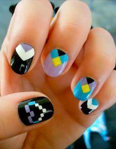 nails geometric - Buscar con Google