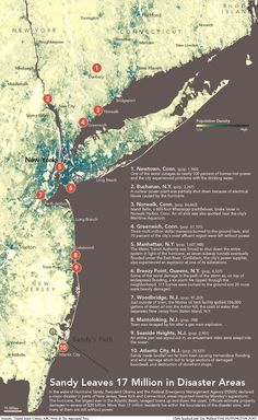 Hurricane Sandy Leaves 17 Million People In FEMA Disaster Areas (INFOGRAPHIC)