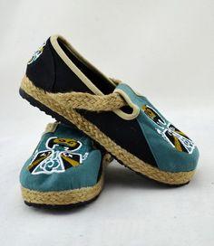 Tatoo Raw Linen Cotton Shoes-zeniche.com SKU fa0128