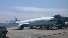 Cathay Pacific Boeing 777-300 Hong Kong International Airport
