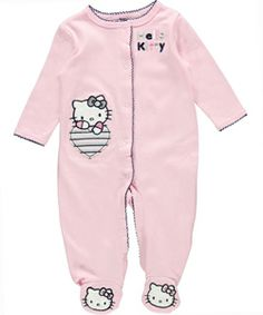 "Hello Kitty ""Hidden Heart"" Coverall (Sizes NB – 9M) $10.99"