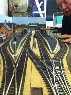 Bournville Model Railway Club Modular Baseboard work in progrest