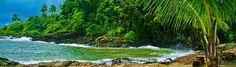 Itacaré.  Saiba mais sobre Itacaré, além de belíssimas praias, cachoeiras, corredeiras, mangues e uma exuberante mata atlântica.     http://www.submarinoviagens.com.br/destinos/itacare.aspx