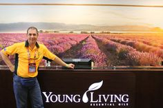 Essential Oils We Trust's, Paul Pike visits Young Living's Head Office at Thanks Giving Point UTAH, 2013.