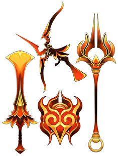 Orichlacum dia-weapons