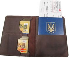 Passport cover Travel wallet Personalized leather от PechaLeather