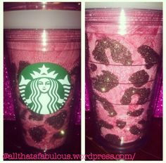 Glitterfied Starbucks Cup✨ | Everything needs a touch of fabulosity.