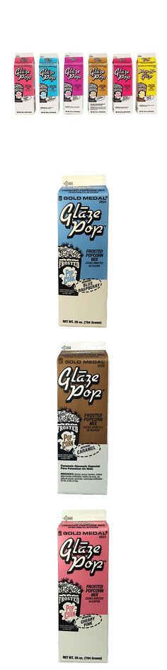 Popcorn 179181: Glaze Pop, Gold Medal, Case Of 6 Cartons, Various Flavors -> BUY IT NOW ONLY: $33.95 on eBay!