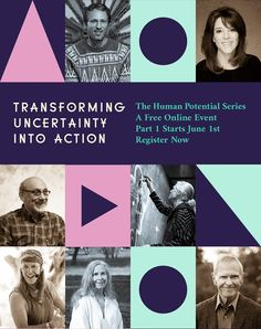 Human Potential Series - Transforming Uncertainty into Action Activists, Spreads, Authors, Join, Action, Teacher, Earth, Thoughts, Create