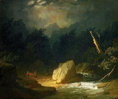George Caleb Bingham, The Storm, 1852-53