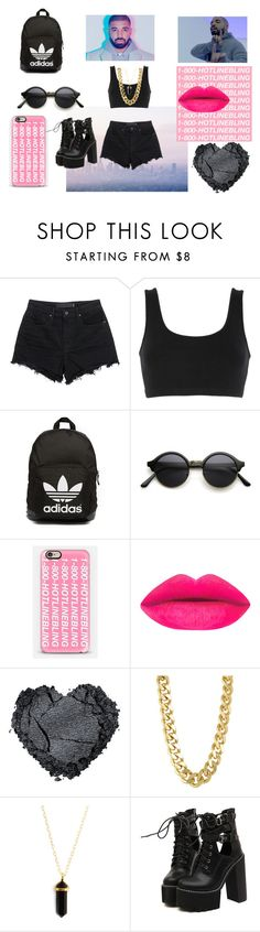 """60secondstyle: Drake"" by mrs305aka ❤ liked on Polyvore featuring Drakes London, Alexander Wang, adidas Originals, Casetify, CC SKYE, WithChic, dance, DRAKE, HowToWear and 60secondstyle"