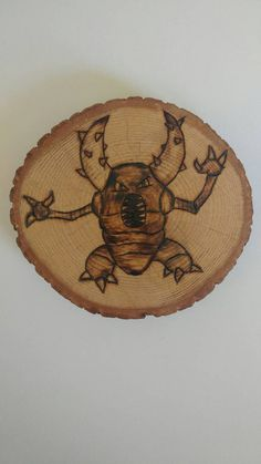 Check out this item in my Etsy shop https://www.etsy.com/ca/listing/463912406/pinsir-pokemon-wood-burning