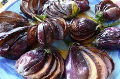 "Quaglie di Melanzane (eggplant ""quail's), a Sicilian dish. Clifford A. Wright. Zesterdaily.com"