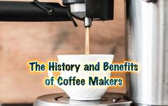 Besides water, coffee is the most consumed beverage in the world. That makes the coffee maker one of the most common appliances in the kitchen and even in Coffee Maker Reviews, Coffee Benefits, Homes, History, Houses, Historia, Home, Computer Case
