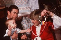 Photo honoring Princess Diana on Tributes.com. �Princess Diana and Prince Charles are shown with their son Prince William during a photo session at Kensington Palace in London in December 1982.�