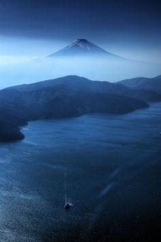 Mt. Fuji in Japan /// #travel #wanderlust #mountain #sailing