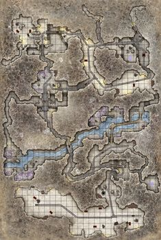 A mine our adventuring party went to in our D&D campaign. Located in the Pathfinder world of Golarion, in the country of Thuvia. Dark Fantasy, Fantasy City, Fantasy Rpg, Medieval Fantasy, Dungeons And Dragons Characters, D&d Dungeons And Dragons, Rpg 2d, Fantasy Map Maker, Pathfinder Maps