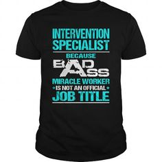 INTERVENTION SPECIALIST T-Shirts, Hoodies, Sweatshirts, Tee Shirts (22.99$ ==► Shopping Now!)