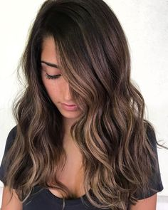 60 Hairstyles Featuring Dark Brown Hair with Highlights Soft Face-Framing Highlights for Brunettes Brown Hair Cuts, Brown Hair Looks, Golden Brown Hair, Brown Hair Shades, Medium Brown Hair, Brown Ombre Hair, Brown Hair Balayage, Light Brown Hair, Dark Brown Hair Dye