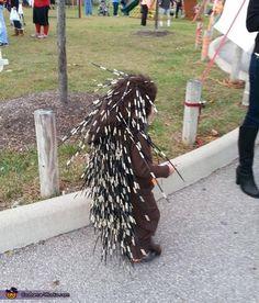 Baby Porcupine Costume - Halloween Costume Contest via