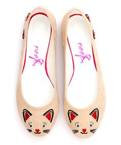Look at this Cream Cat Flats on today! Cat Flats, Cat Shoes, Funny Shoes, Cream Cat, Decorated Shoes, Kinds Of Shoes, Painted Shoes, Animal Jewelry, Crazy Cat Lady
