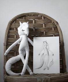 Dolls # my hobby # Hand Made # White # pony # milada.creative.art # Slovakia