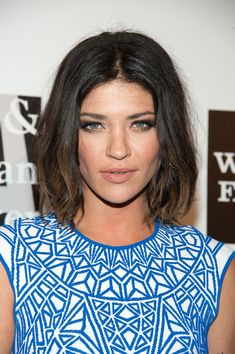 Jessica Szohr long bob with ombre #hair