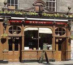 Ian Rankin Set In Darkness the barony bar broughton street