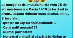 """La marginea drumului unul de vreo 75 de ani meșterea la o Dacia: """"Oprește un Gip cu doi flăcăiandri"""" China, Porcelain"""