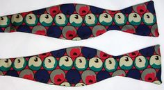 Do you see apples or eyeballs? Get this CRAZY Robert Talbott Bow Tie from www.thetiechest.com for only $49.99. #tie #bowtie #novelty