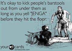Bar Stool Etiquette