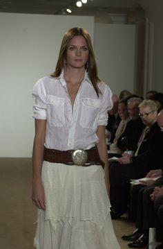 Ralph Lauren at New York Fashion Week Spring 2002 - Runway Photos