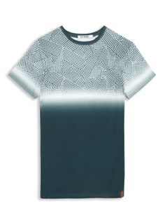 The Shattered House Check Graphic Tee | T-Shirts | Ben Sherman