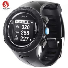 DREAM SPORT GPS Golf Watch Course Rangefinder Measure Shot and Recording Score with Courses Updating and Waterproof - Year and Free Lifetime Brand Service (Black) Golf Gps Watch, Gps Sports Watch, Sport Watches, Watches For Men, Gps Watches, Best Golf Rangefinder, Golf 7 R, Sport Golf, Golf Range Finders