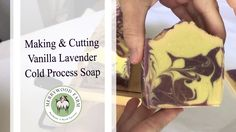Vanilla Lavender | Making and Cutting Cold Process Goat Milk Soap https://youtu.be/yXYJh6BetHE The making and cutting of Vanilla Lavender Cold Process Goat Milk Soap!  I used 2 lavender/purple colors.  However they appear to be exactly the same in the final bar.  We'll see how they look at wrapping.  Thanks for watching. :)   _________________________  - M y E q u i p m e n t --  Soap Mold - http://amzn.to/2mWTL2y Frother - http://amzn.to/2mQyOVk Soap Cutter -  http://amzn.to/2sPALa4 Hand…