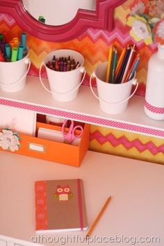 closet office - sideways cubby bookshelf instead of desk?