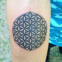 Flower Of Life Tattoo Hand Made Tattooing Goods Alfredo Matta