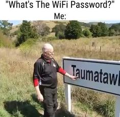 Good Morning Quotes Discover Whats the WiFi password Grandpa? Do you struggle remembering your WiFi password? Wander has local tech support to help you out! Funny Video Memes, Funny Short Videos, Really Funny Memes, Stupid Funny Memes, Funny Laugh, Funny Relatable Memes, Hilarious Sayings, 9gag Funny, Funny Stuff