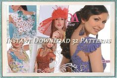 Crochet Patterns. E-book. Instant Download PDF.  Dress,Skirt, Top, Jacket, Irish Lace Summer Issue Journal Mod #521 on Etsy, $3.00