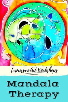 Mandala Art Therapy, Create 365, Morning Meditation, Expressive Art, Meditation Practices, Emotional Healing, Life Is Like, Workshop, Community