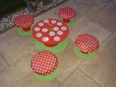 Cable reels - chairs and tables