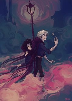 Vin and Kelsier by Melia