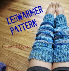 Leg Warmers FREE Crochet Pattern via Love2Bloom.