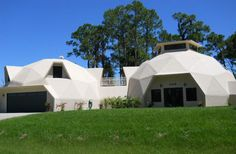 Geodesic Dome Home, Port Charlotte, Florida - 1 of 2 -this geodesic dome home was built in 2008 with more than 3,100 air-conditioned square feet & 4,600 square feet overall.   Spaces - Yahoo Homes