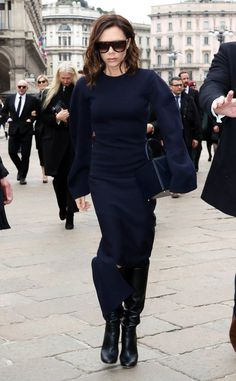 Victoria Beckham from The Big Picture: Today's Hot Photos  The fashion guru is seen around town in Milan, Italy.
