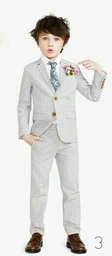 Shop the Boys' Ludlow suit jacket in seersucker at J.Crew and see the entire selection of Boys' Suiting. Find Boys' clothing & accessories at J. Boys Wedding Suits, Wedding Groom, Kids Suits, Stylish Boys, Boys Wear, Madame, Communion, Boy Fashion, Fashion Clothes