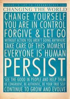 Ghandi fundamentals...