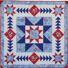 The Norwegian Winter Quilt Pattern at Connecting Threads