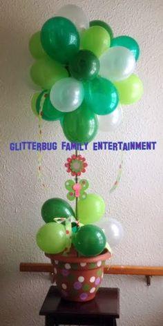 Celebrating Tu b'shevat. Balloon tree.